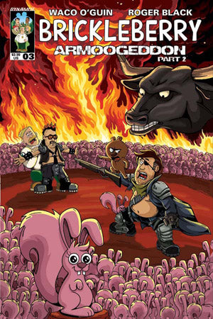 Brickleberry 3 Dynamite 2017