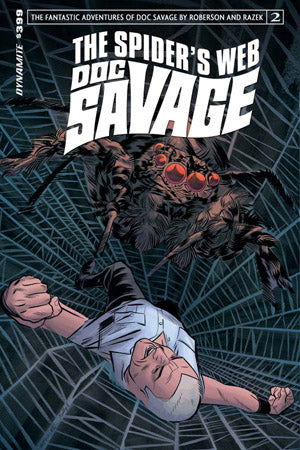 Doc Savage Spiders Web 2 Dynamite 2015