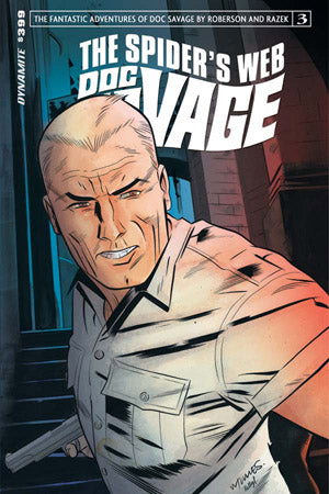 Doc Savage Spiders Web 3 Dynamite 2015