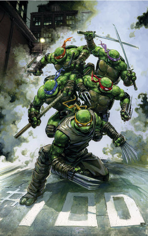 TMNT ONGOING #100 Clayton Crain Virgin Variant Teenage Mutant Ninja Turtles (12/11/2019) IDW Reservation