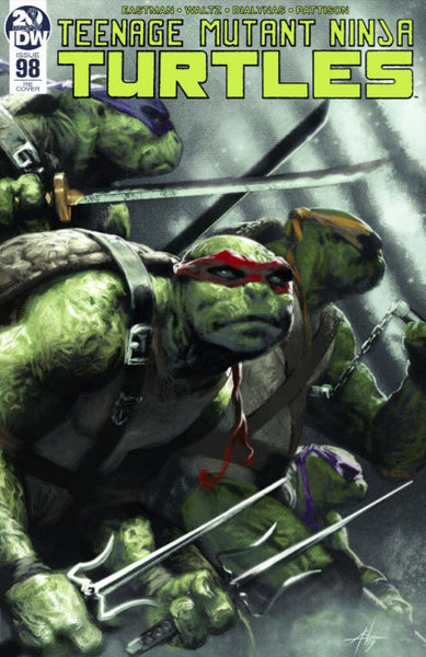 TMNT ONGOING #98 Gabriele Dell'Otto Variant Teenage Mutant Ninja Turtles (09/25/2019) IDW
