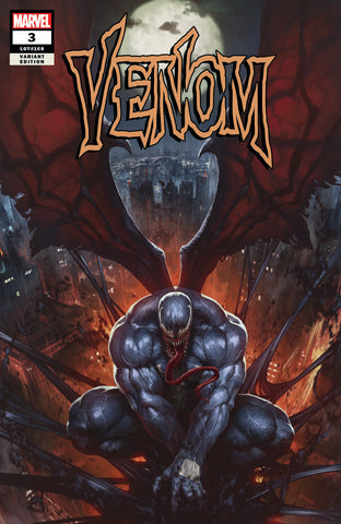 Venom 3 SKAN Golden Apple Comics Variant Trade Signed (06/27/2018)