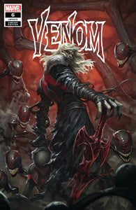 Venom 6 SKAN Srisuwan Variant Knull Symbiote God Trade Virgin CGC Options Donny Cates (09/19/2018)