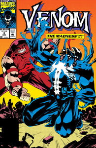 Venom Madness 2 Marvel 1993 NM- Juggernaut Kelley Jones