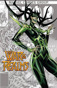 WAR OF REALMS #1 J Scott Campbell Hela Variant (04/03/2019) MARVEL