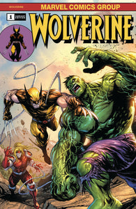 Wolverine #1 Tyler Kirkham Incredible Hulk 181 Homage Variant DX (02/19/2020) Marvel