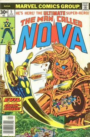 Man Called Nova 5 Marvel 1976