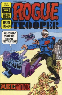 Rogue Trooper 4 Quality 2000AD