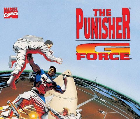 Punisher G Force 1 Marvel Graphic Novel 1992