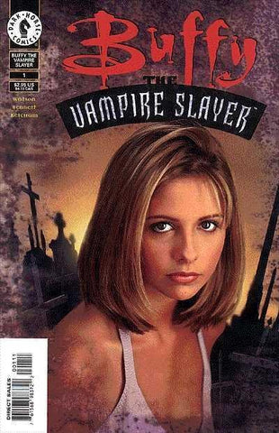 Buffy Vampire Slayer 1 Photo Cover Dark Horse 1998