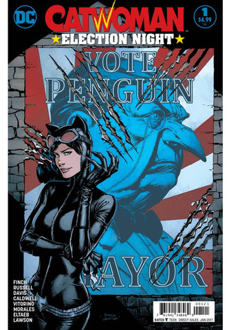 Catwoman Election Night 1 DC 12017