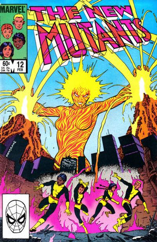 New Mutants 12 Marvel 1984