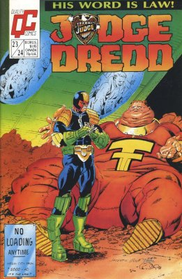 Judge Dredd 23/24Quality Comics 1986 2000AD