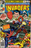 Invaders 34 Marvel 1977 Union Jack Destroyer