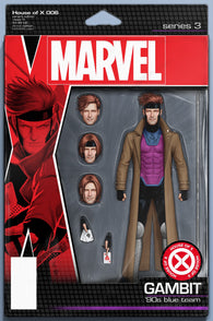 HOUSE OF X #6 F (OF 6) John Tyler CHRISTOPHER ACTION FIGURE Variant (10/02/2019) Marvel