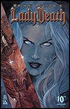Lady Death 1 Avatar Painted Variant 2004
