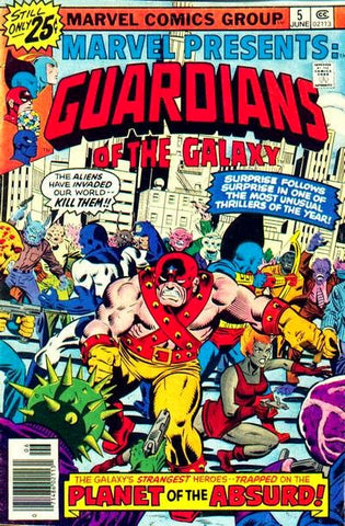 Guardians of the Galaxy 5 Marvel Presents 1976