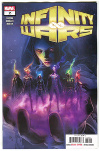 INFINITY WARS #2 (OF 6) Reveal Unmasked Secret Variant Gamora Mike Deodato (08/15/2018)