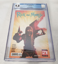 Rick And Morty 40 Oni 2018 CGC 9.8 Mike Vasquez Iron Man 282