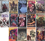 Walking Dead 15th Anniversary Color Trade Blind Bag Set 15 Books 1 2 7 19 27 48 53 92 98 100 108 127 132 167 171