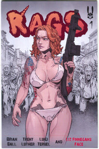 Rags #1 Antarctic Press 2018 NM Reprint Luigi Teruel Variant Zombies