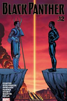 Black Panther 12 Marvel 2016