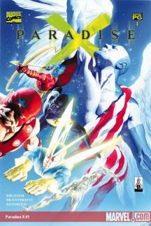 Paradise X 1 Marvel 2002 Alex Ross
