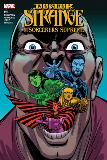 Doctor Strange and the Sorcerers Supreme 6 Marvel 2017
