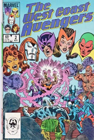 West Coast Avengers 2 Marvel 1985 Wonder Man Tigra