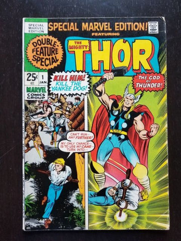 Special Marvel Edition 1 Mighty Thor 1973