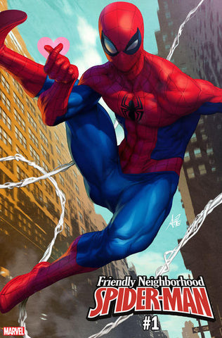 Friendly Neighborhood Spider-Man 1 Marvel Stanley Lau Artgerm Variant (01/09/2019)