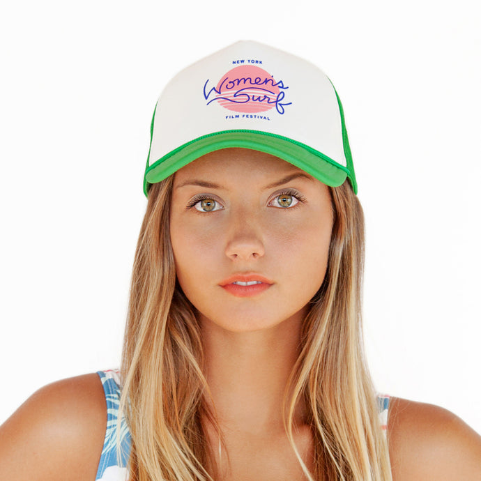 NEW YORK WOMEN'S SURF FILM FESTIVAL - HAT GREEN