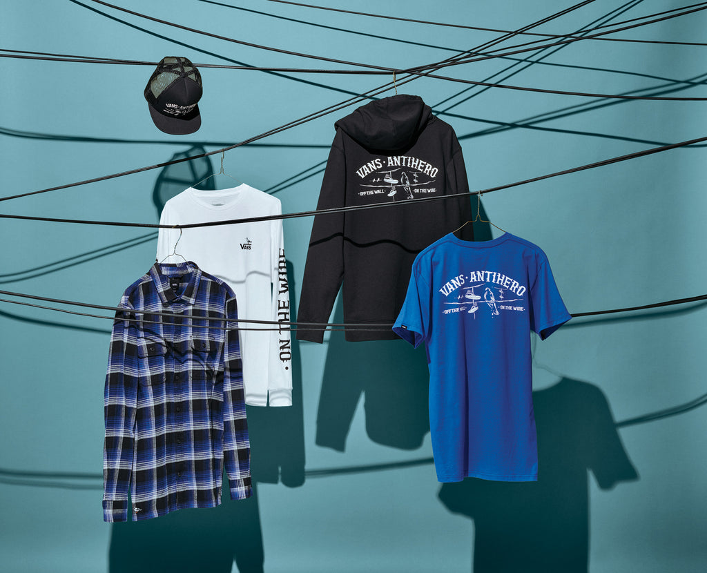 Vans X ANTIHERO Clothing Line