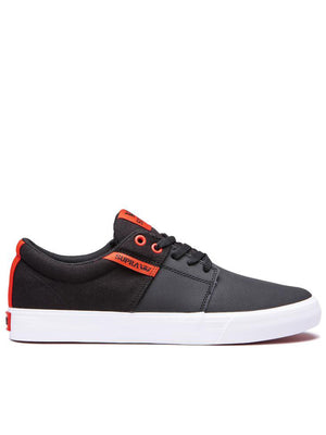BLACK/RISK RED/WHT (035)