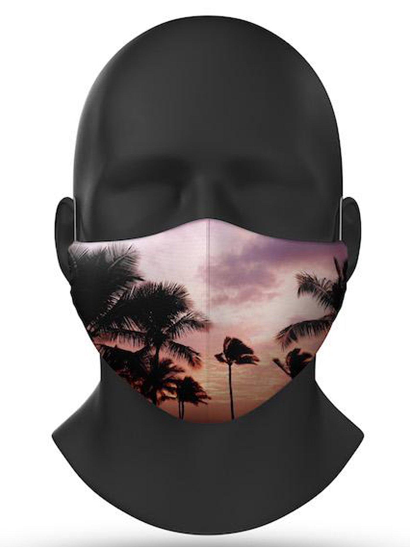 Beach Palm Covid-19 Face Mask