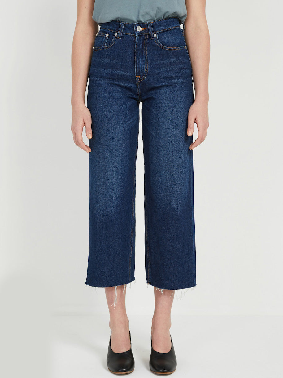 Nina High Rise Wide Jeans