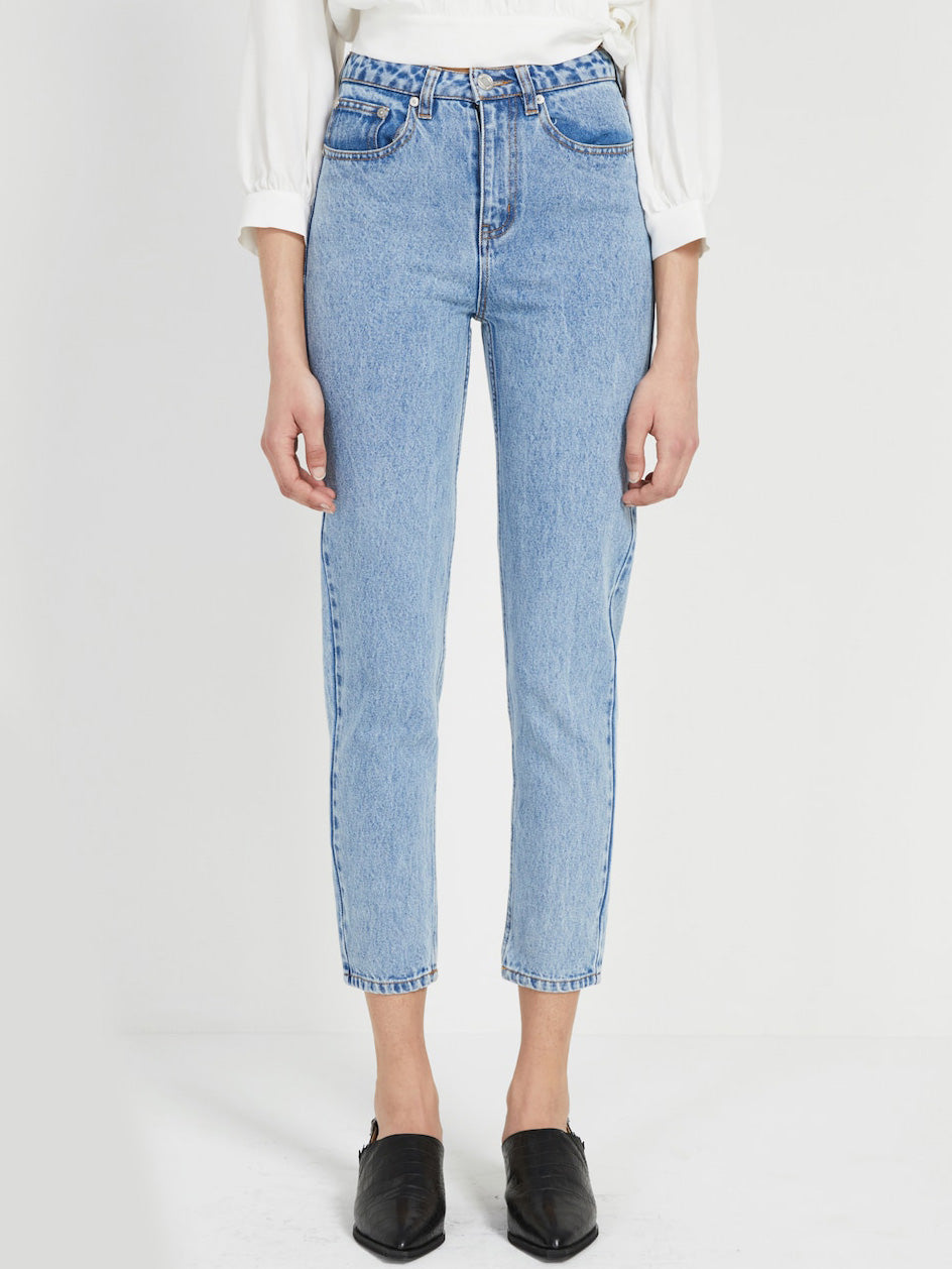 Stevie High Rise Ankle Jeans