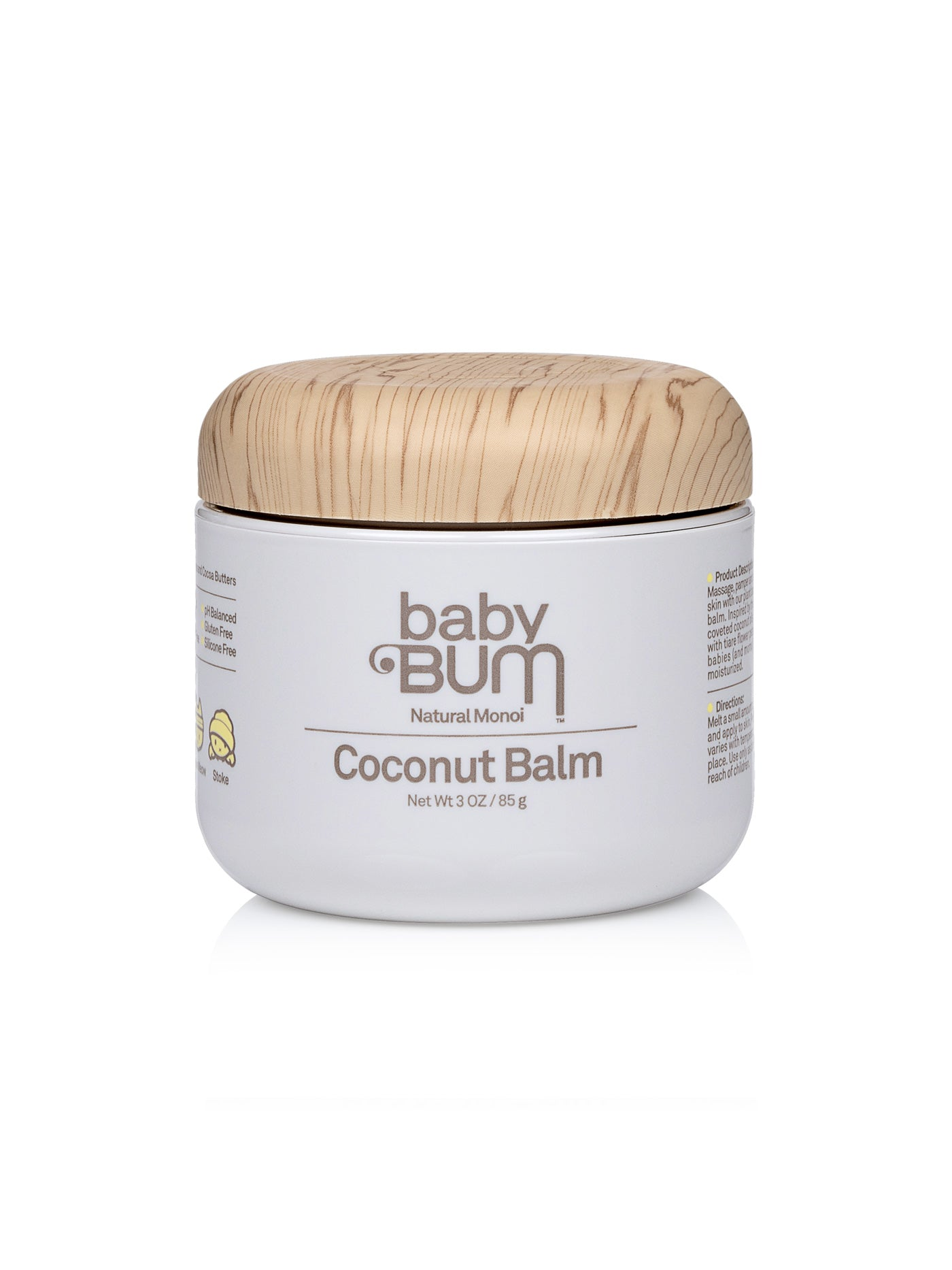 Baby Bum Natural Monoi Coconut Balm