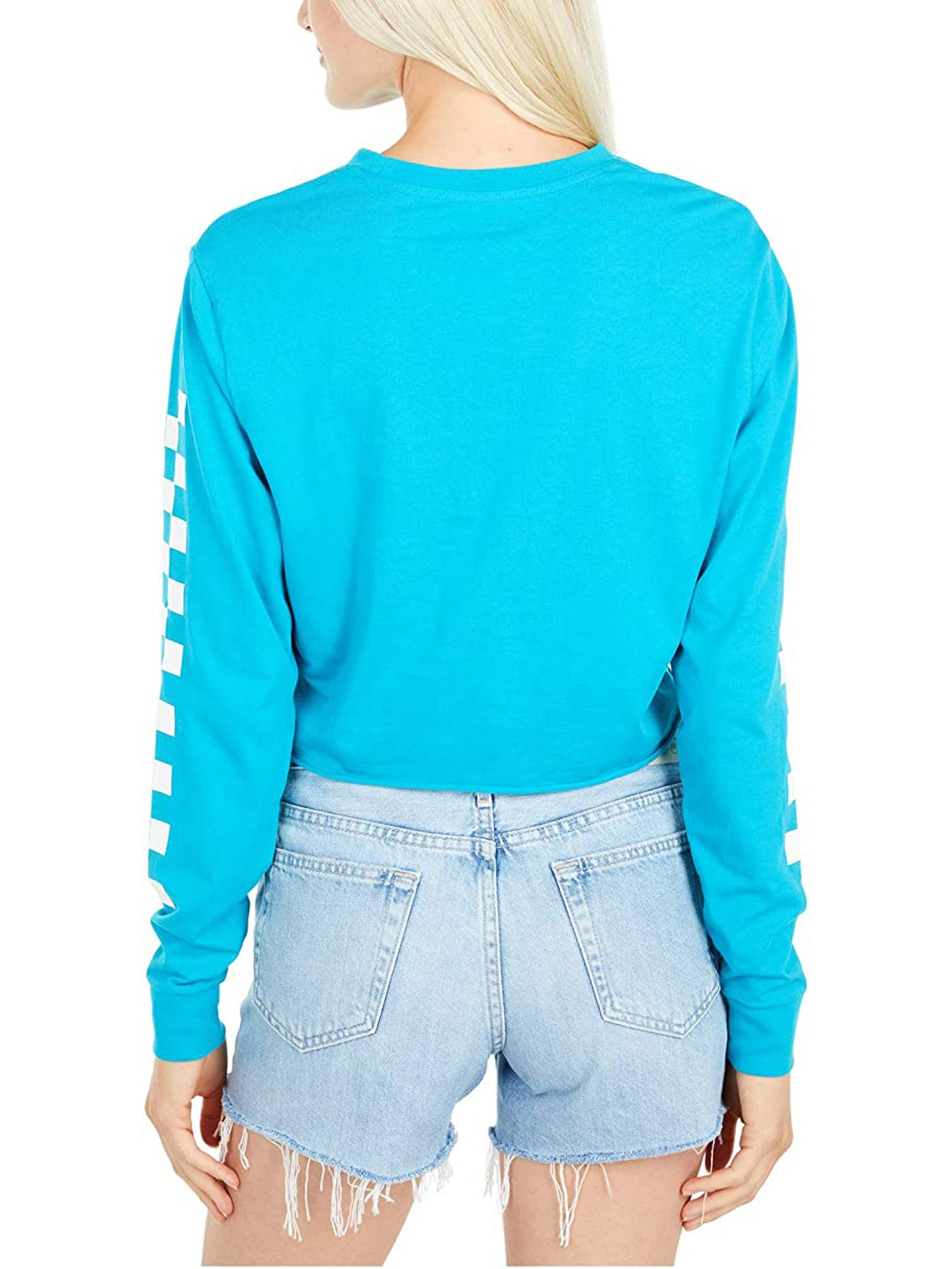Kaye Crop Long Sleeve T-Shirt