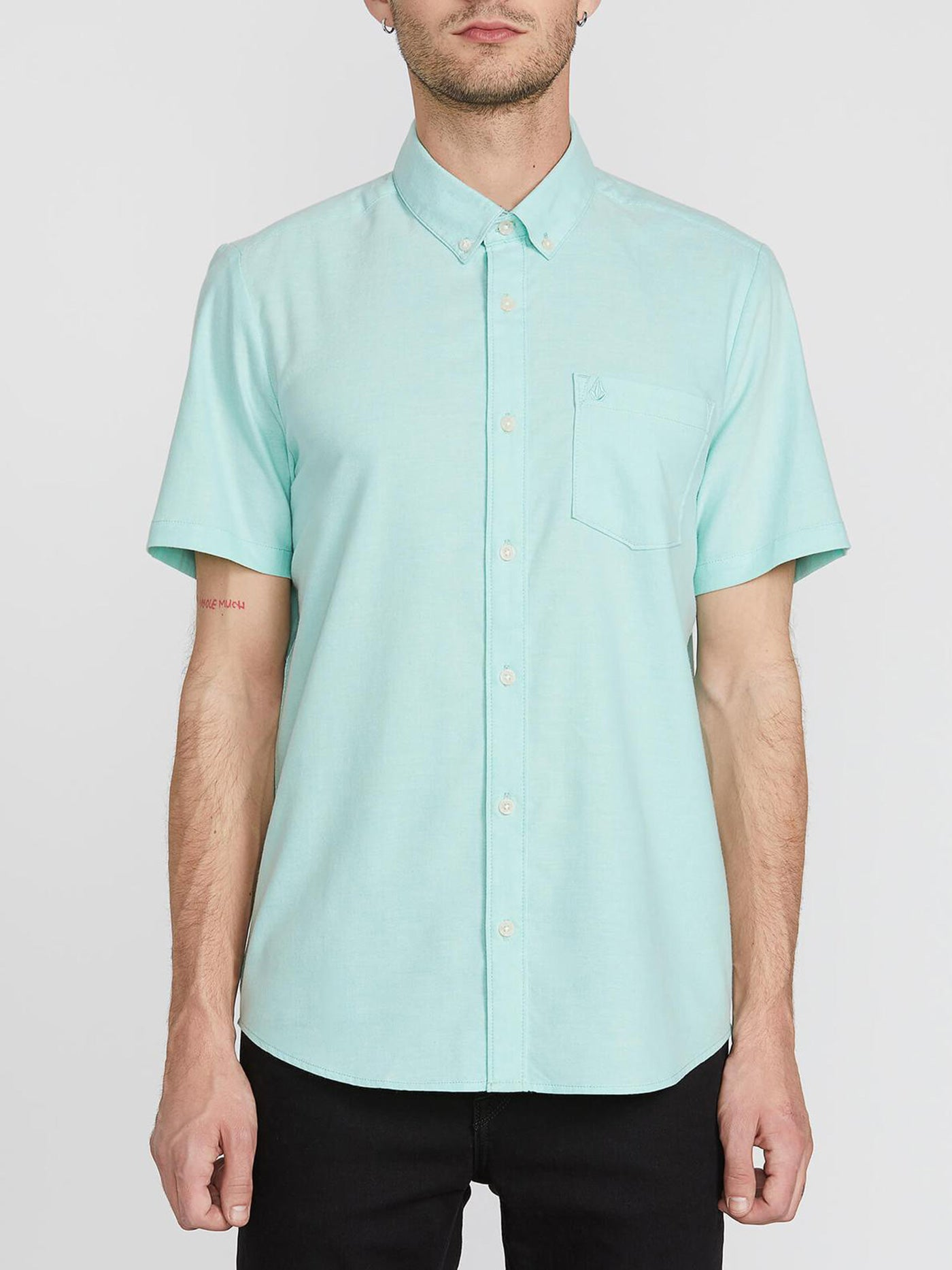 Everett Oxford Short Sleeve Buttondown Shirt
