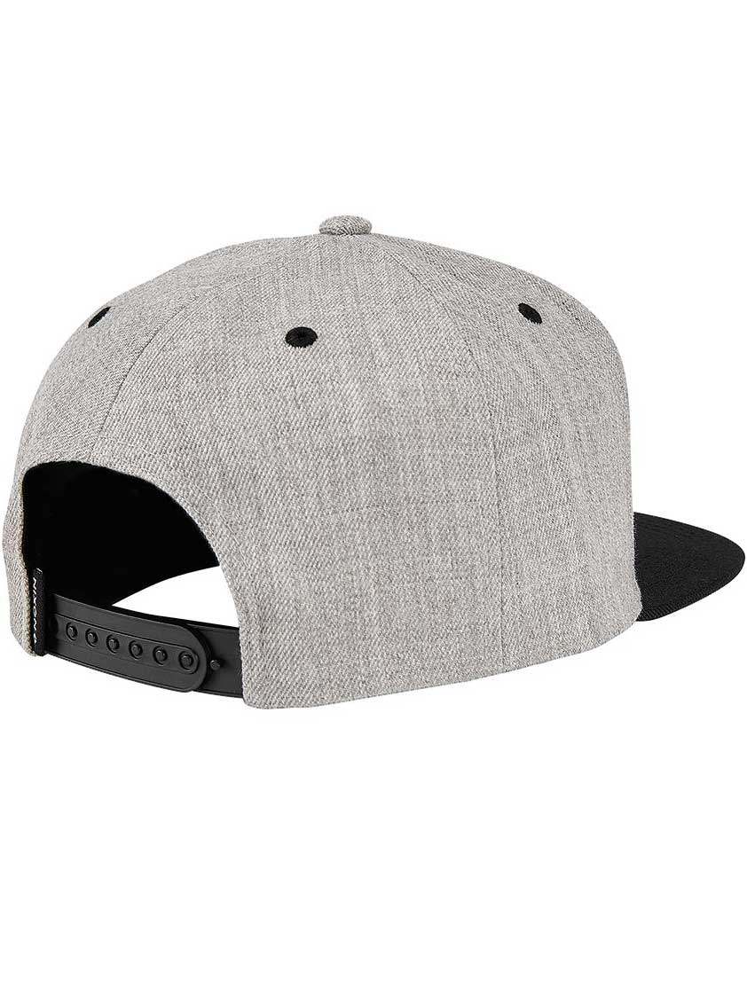HEATHER GREY/BLACK (671)