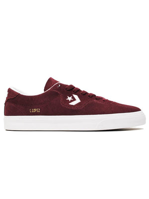 DARK BURGUNDY/WHITE/GUM