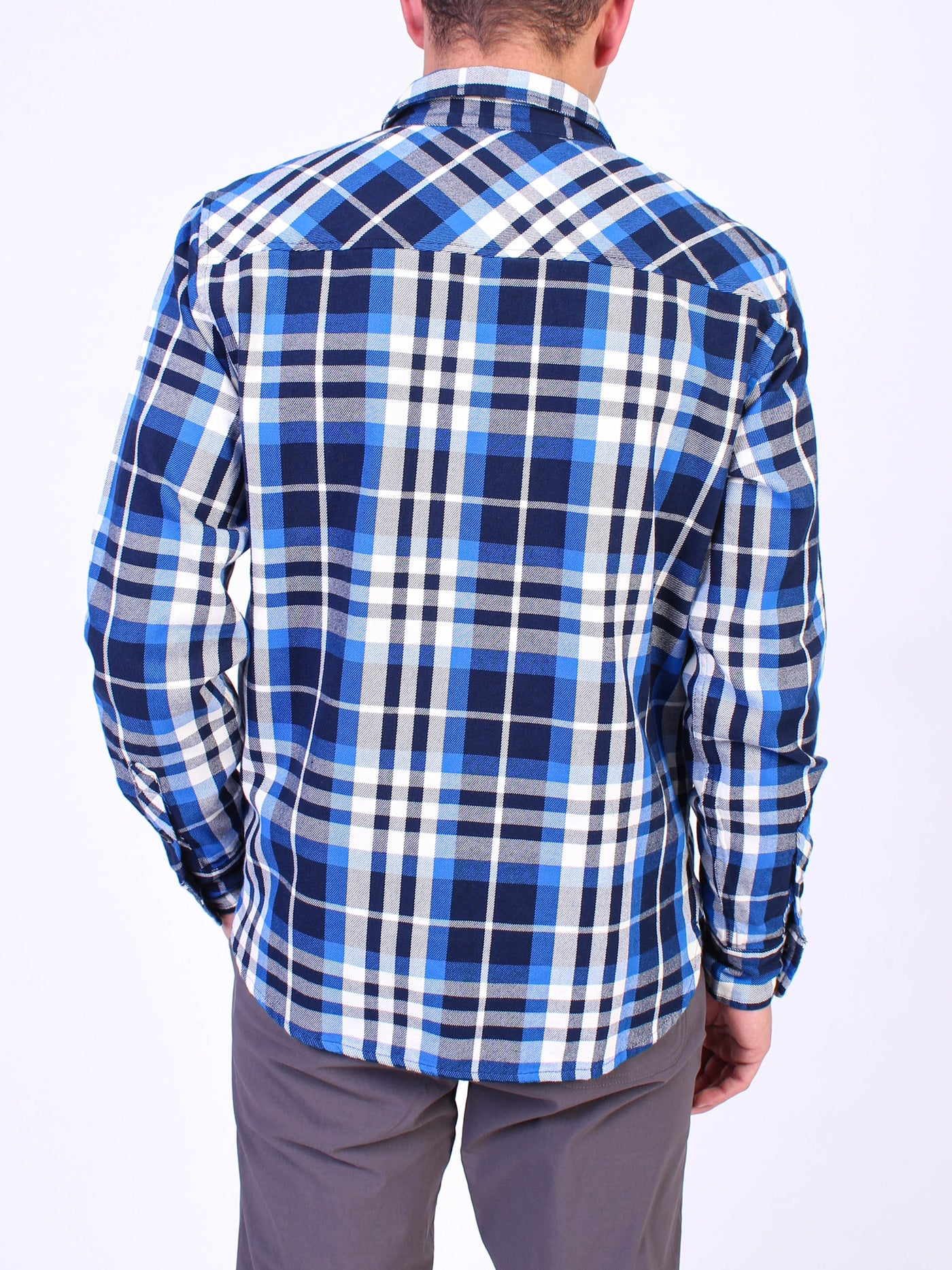 Field Plaid Long Sleeve Buttondown Shirt
