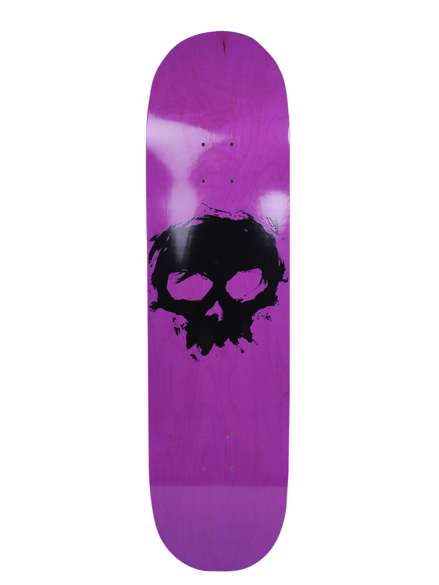 Price Point Single Blood Skull Black Trans/Lavender 8.5''