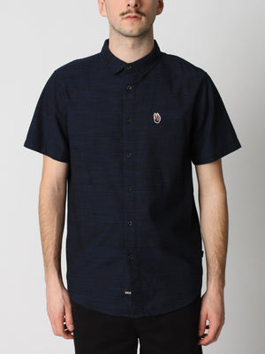 Flaming Short Sleeve Buttondown Shirt