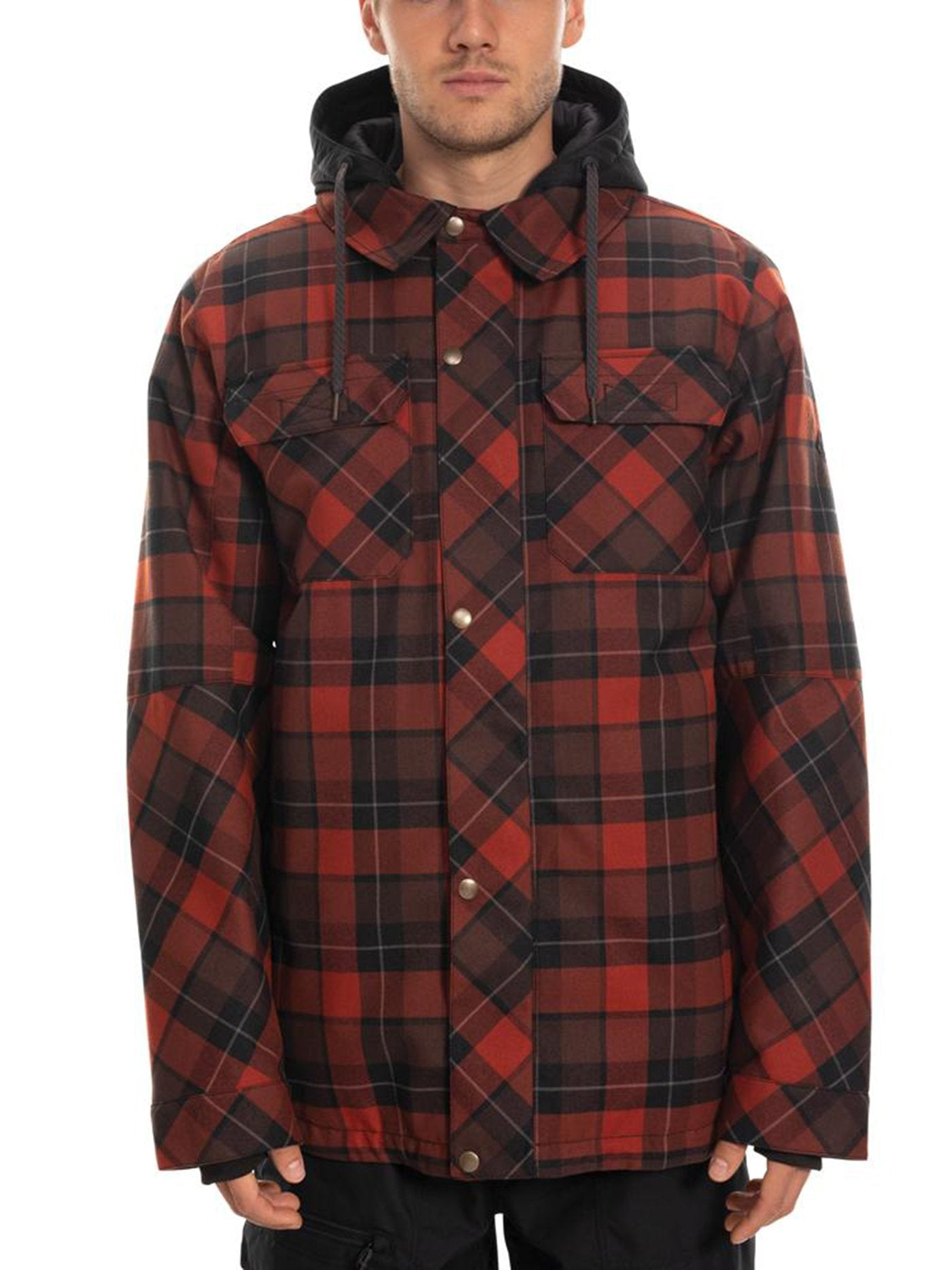 RUSTY RED PLAID