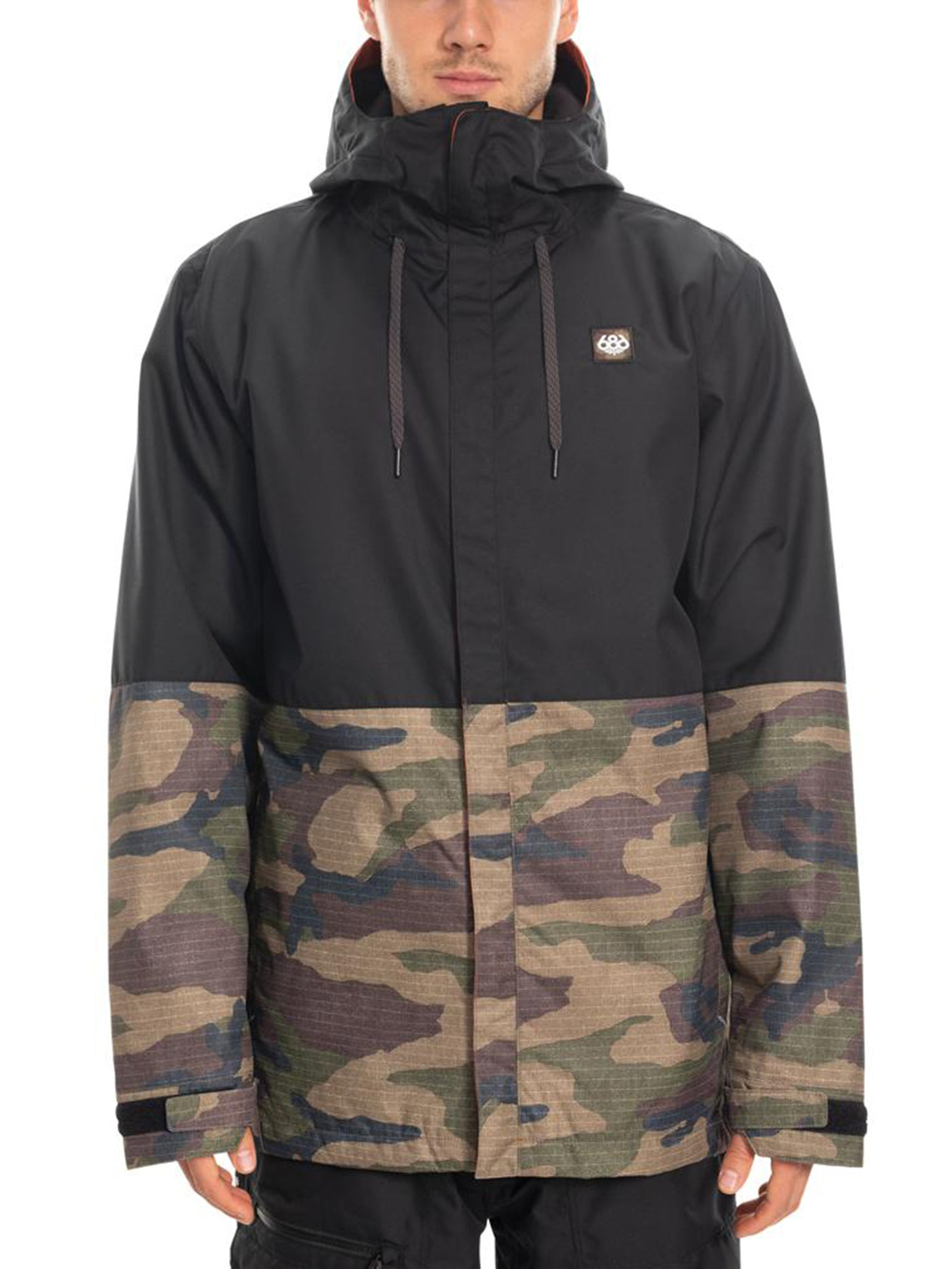 DARK CAMO COLORBLOCK