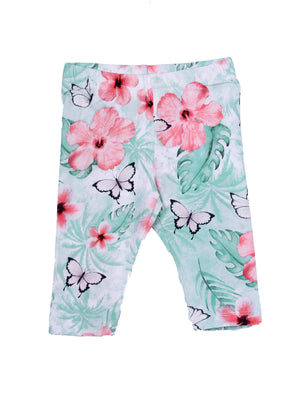 Haliza Legging Capri Pants (Girls 2-7)