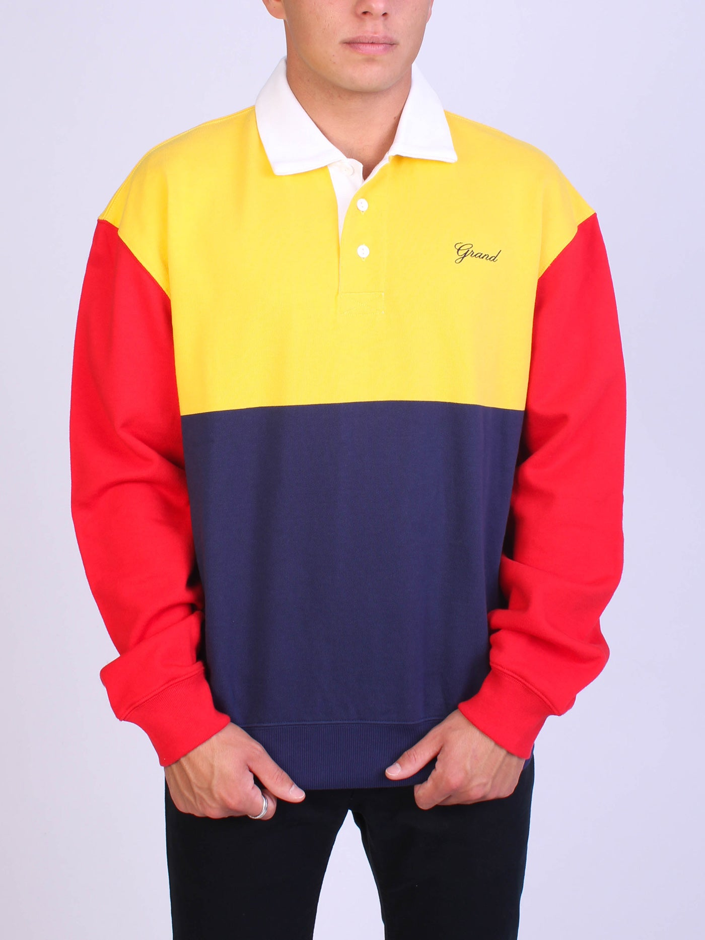 NAVY/RED/YELLOW