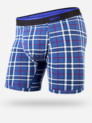Classic Print Fireside Plaid Navy Boxer